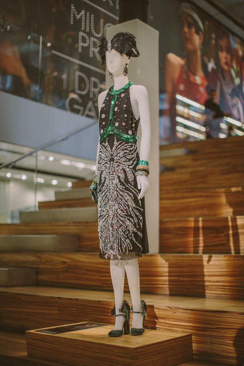 prada exhibition Dress Gatsby the great Gastby costumes PAULINEFASHIONBLOG.COM  13 Dress Gatsby