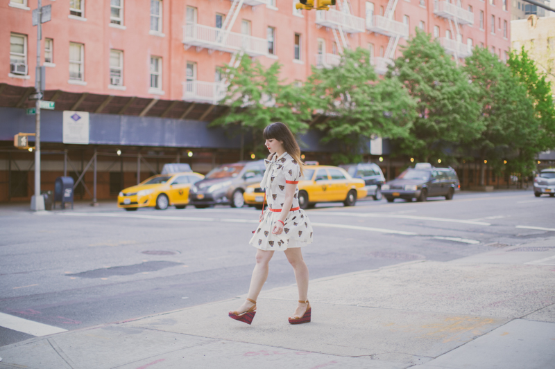 robe tigre castelbajac gemma wedges coach new york fashionblog PAULINEFASHIONBLOG.COM  10 Everyday walk