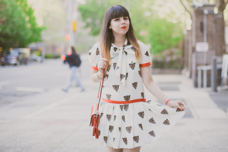 robe tigre castelbajac gemma wedges coach new york fashionblog PAULINEFASHIONBLOG.COM  18 Everyday walk