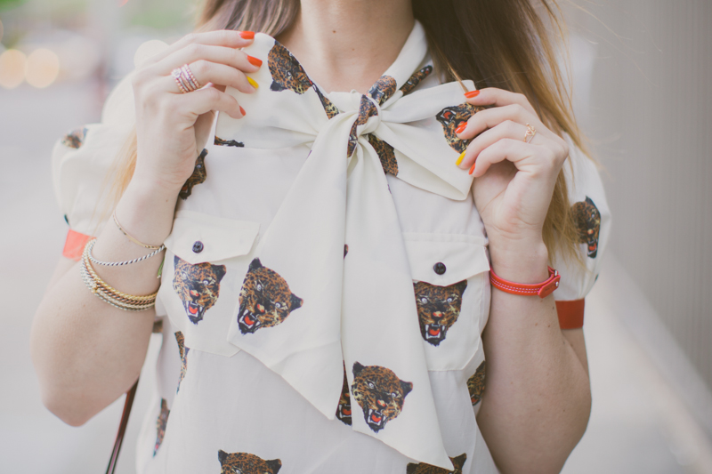 robe tigre castelbajac gemma wedges coach new york fashionblog PAULINEFASHIONBLOG.COM  3 Everyday walk