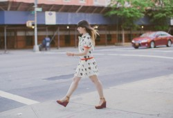 robe tigre castelbajac gemma wedges coach new york fashionblog - PAULINEFASHIONBLOG.COM_-9