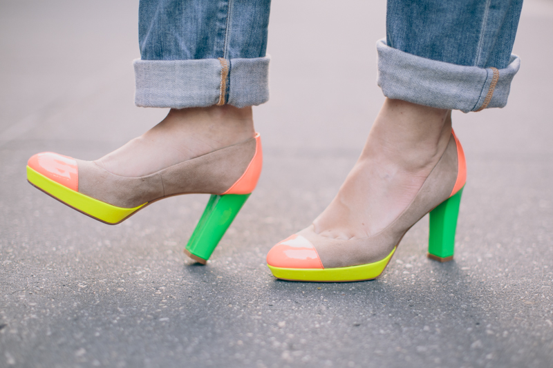 fluo vanessa bruno mood by me by zoe shourouk paulinefashionblog.com  8 Back in NYC