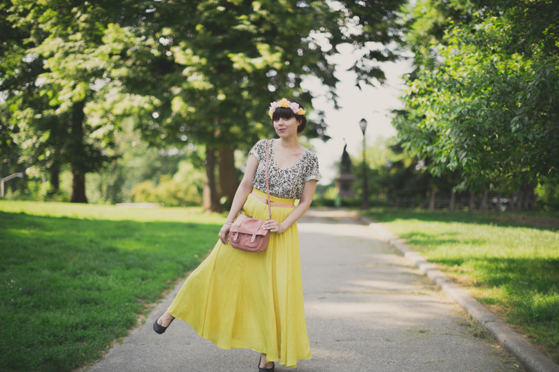 robe maje place des tendances  21 Jaune Citron