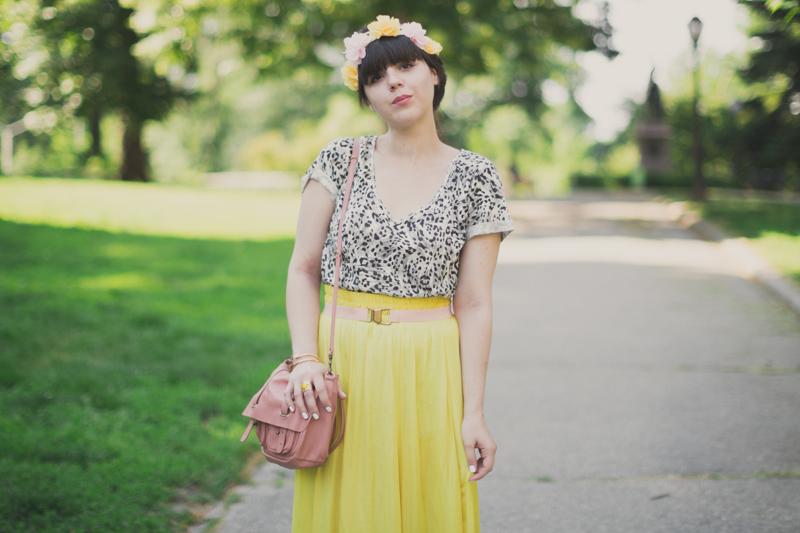 robe maje place des tendances  71 Jaune Citron