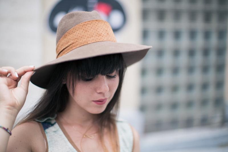 valentine gauthier virginie castaway borsalino paulinefashionblog.com   11 à Paris