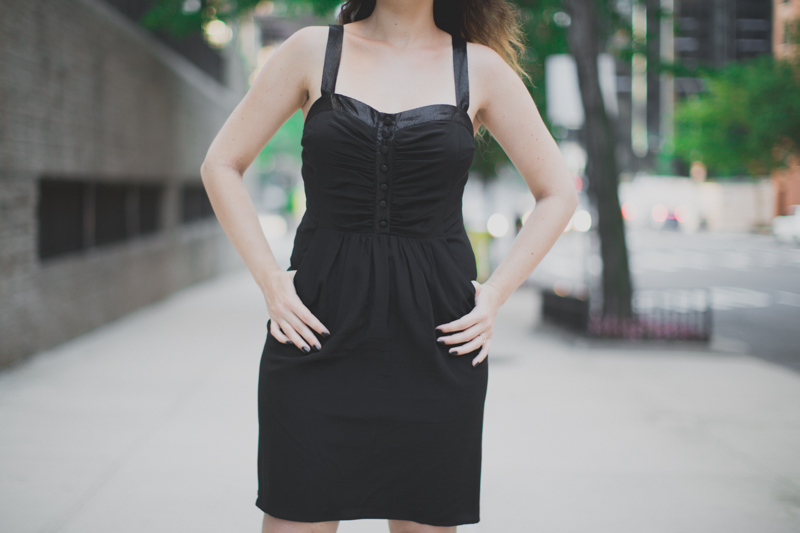 koshka mashka melissa karl lagerfeld ice cream paulinefashionblog.com   3 Encore une petite robe noire...