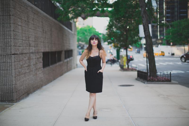 koshka mashka melissa karl lagerfeld ice cream paulinefashionblog.com   Encore une petite robe noire...