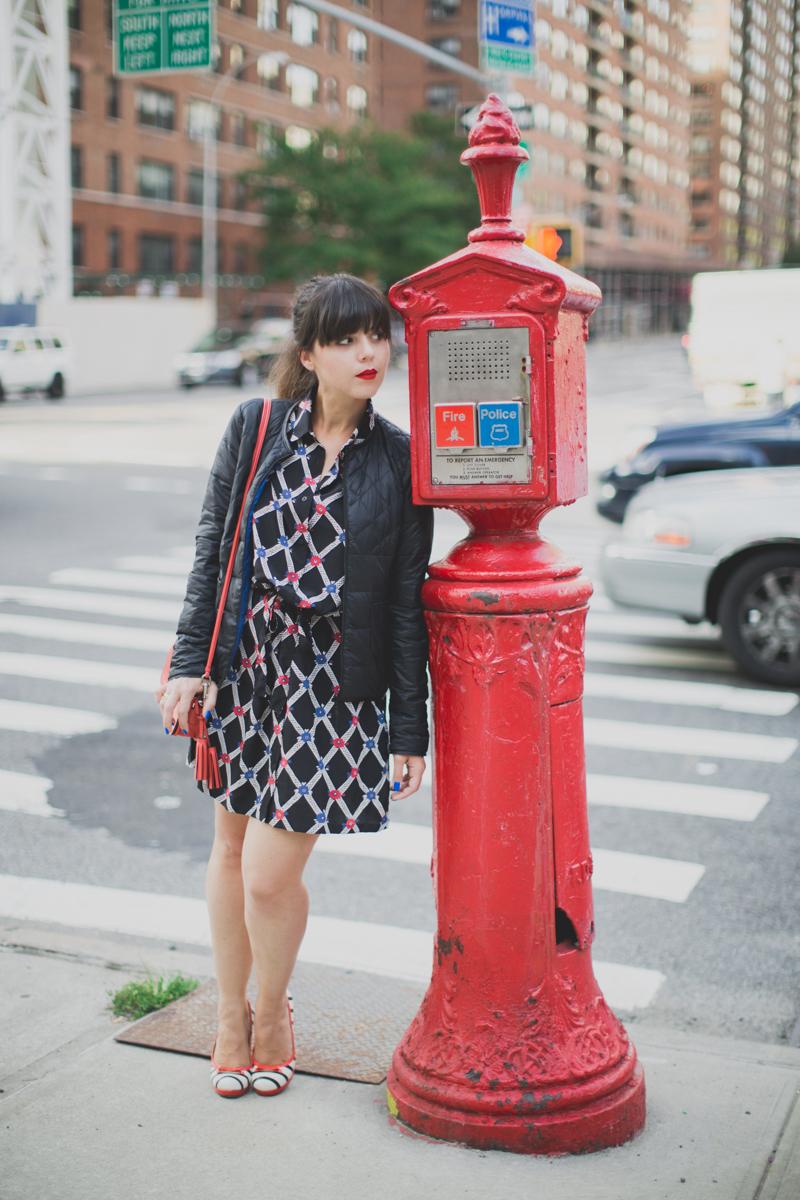 Mlle Plume New York Fashion Week doudoune comptoir des cotonniers paulinefashionblog.com  15 Mademoiselle Plume : le retour !