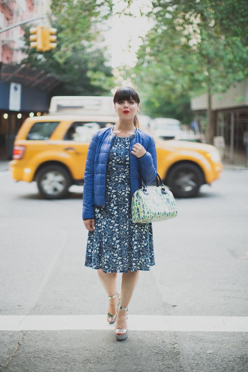 Mlle Plume New York Fashion Week doudoune comptoir des cotonniers paulinefashionblog.com  16 Mademoiselle Plume : le retour !
