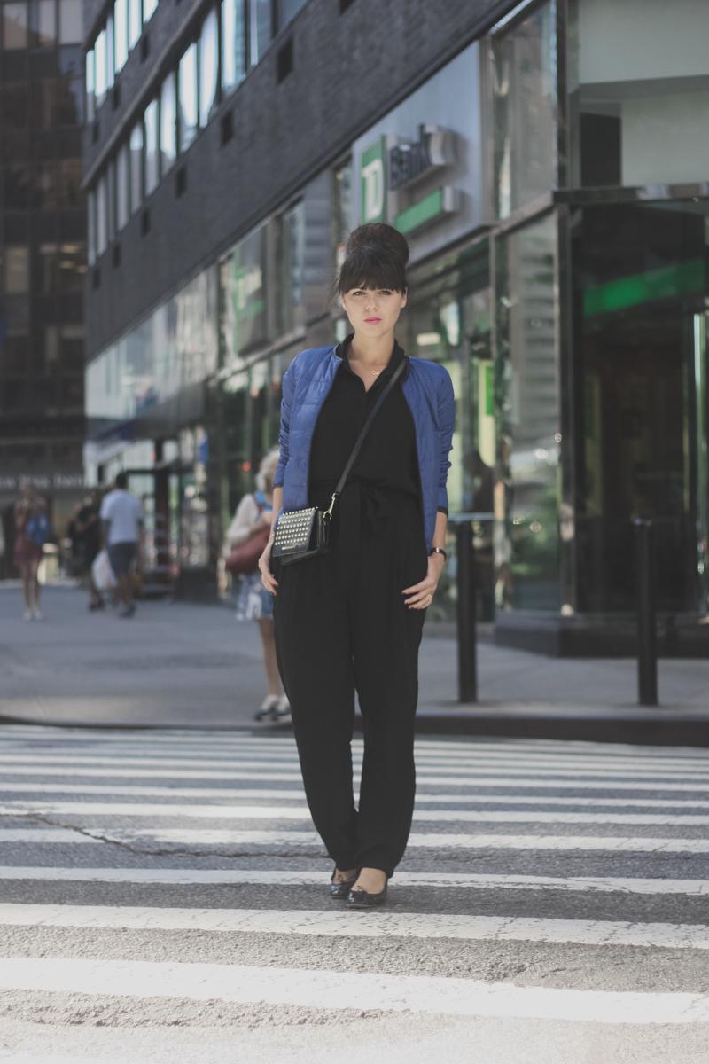 Mlle Plume New York Fashion Week doudoune comptoir des cotonniers paulinefashionblog.com  5 Mademoiselle Plume : le retour !