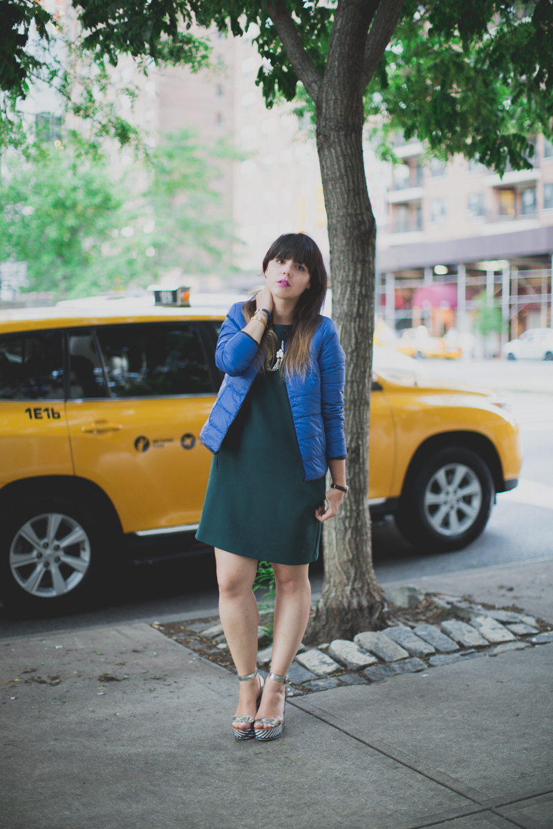 Mlle Plume New York Fashion Week doudoune comptoir des cotonniers paulinefashionblog.com  8 Mademoiselle Plume : le retour !