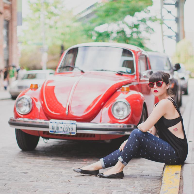 cox coccinelle vw beetle rouge red - paulinefashionblog.com_
