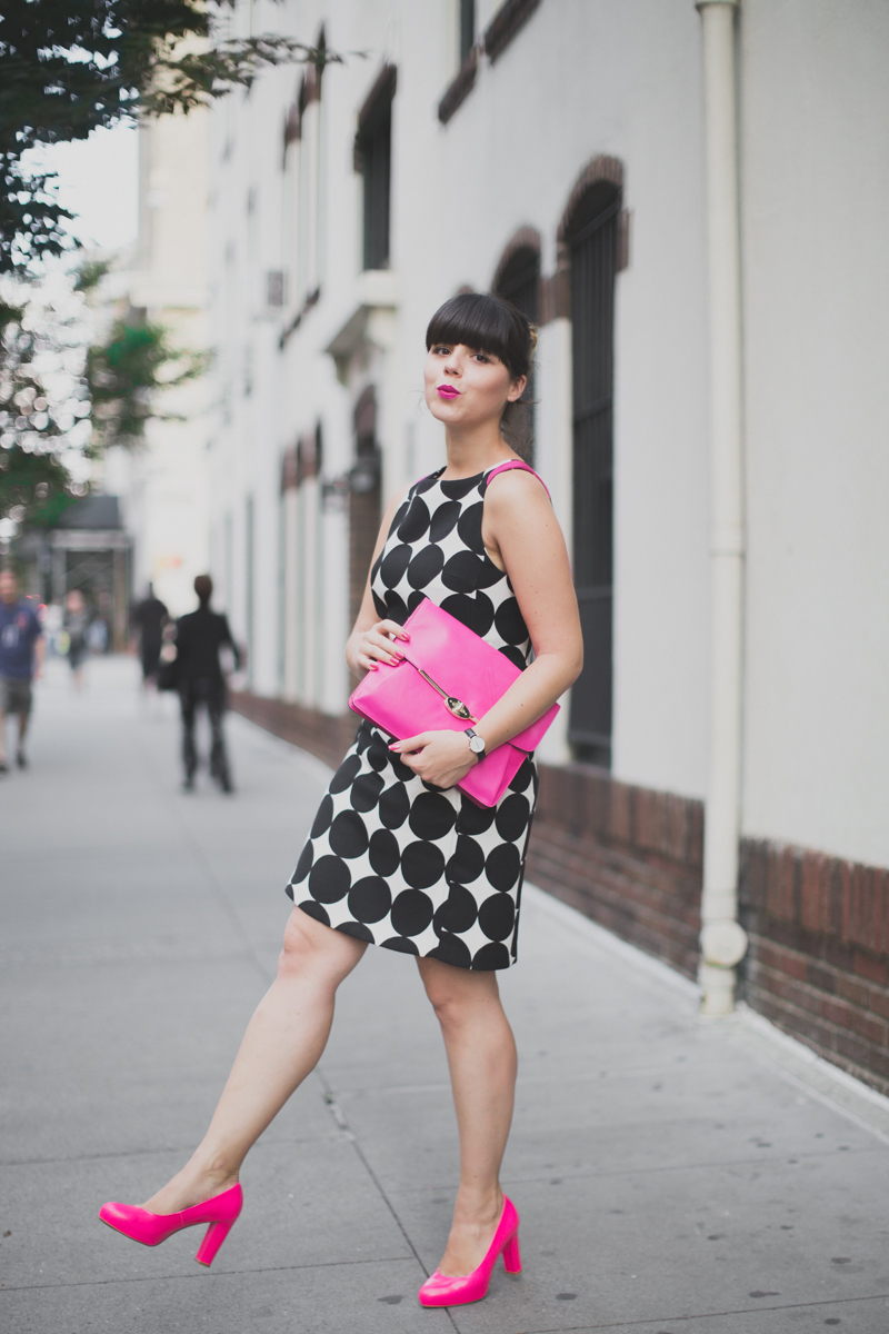 desigual coat and dress coach madison clutch paulinefashionblog.com  12 Pink & Prints