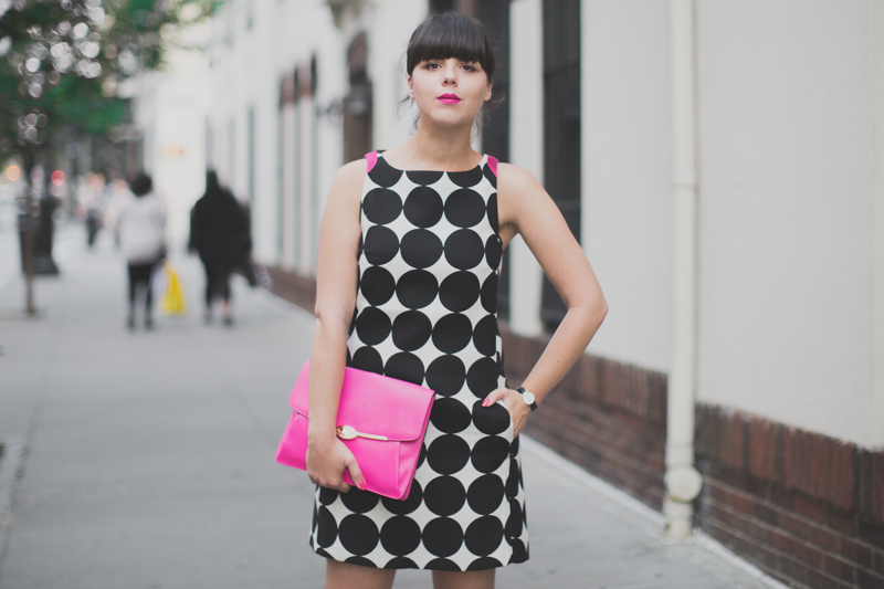 desigual coat and dress coach madison clutch paulinefashionblog.com  6 Pink & Prints