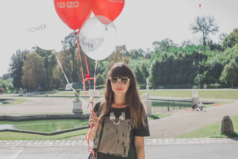 flower in the air event blogueuses kenzo parfums paulinefashionblog.com  9 Poppies & Balloons (Flower in the Air   KENZO)