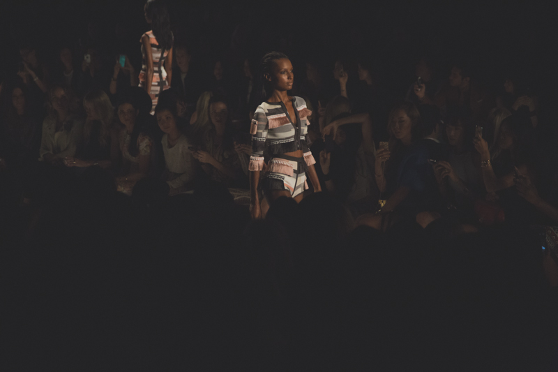 herve leger nyfw fashion week spring 14 show paulinefashionblog.com  10 My New York Fashion Week Diary