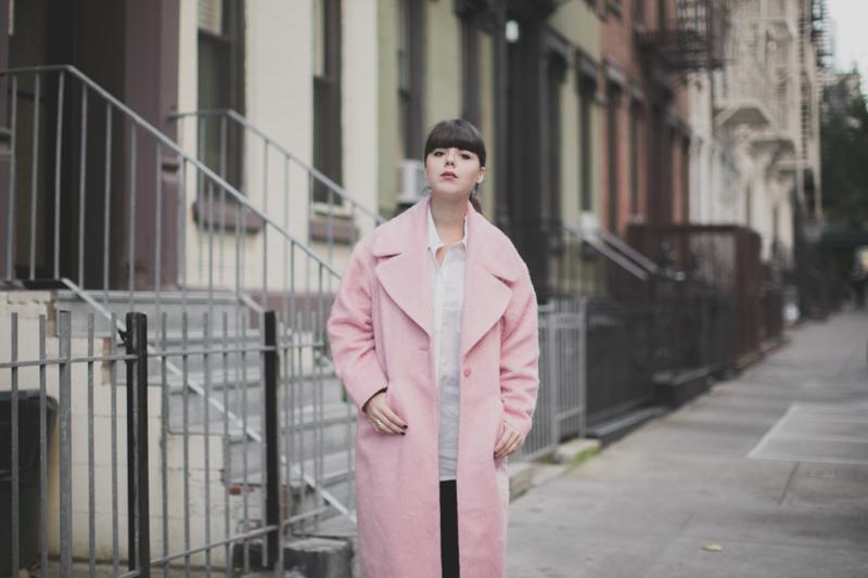 manteau rose pink coat oversize asos - paulinefashionblog.com_-3