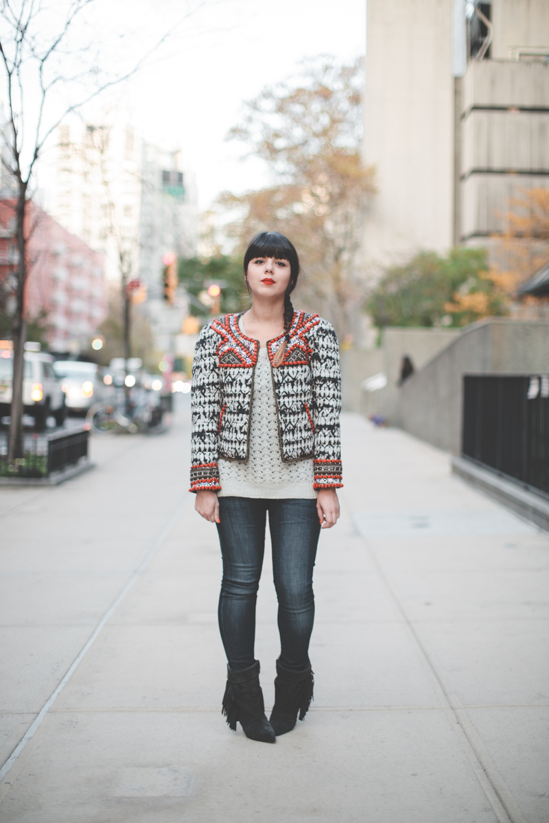 isabel marant pour hm embroidered jacket veste brodee - paulinefashionblog.com_-2
