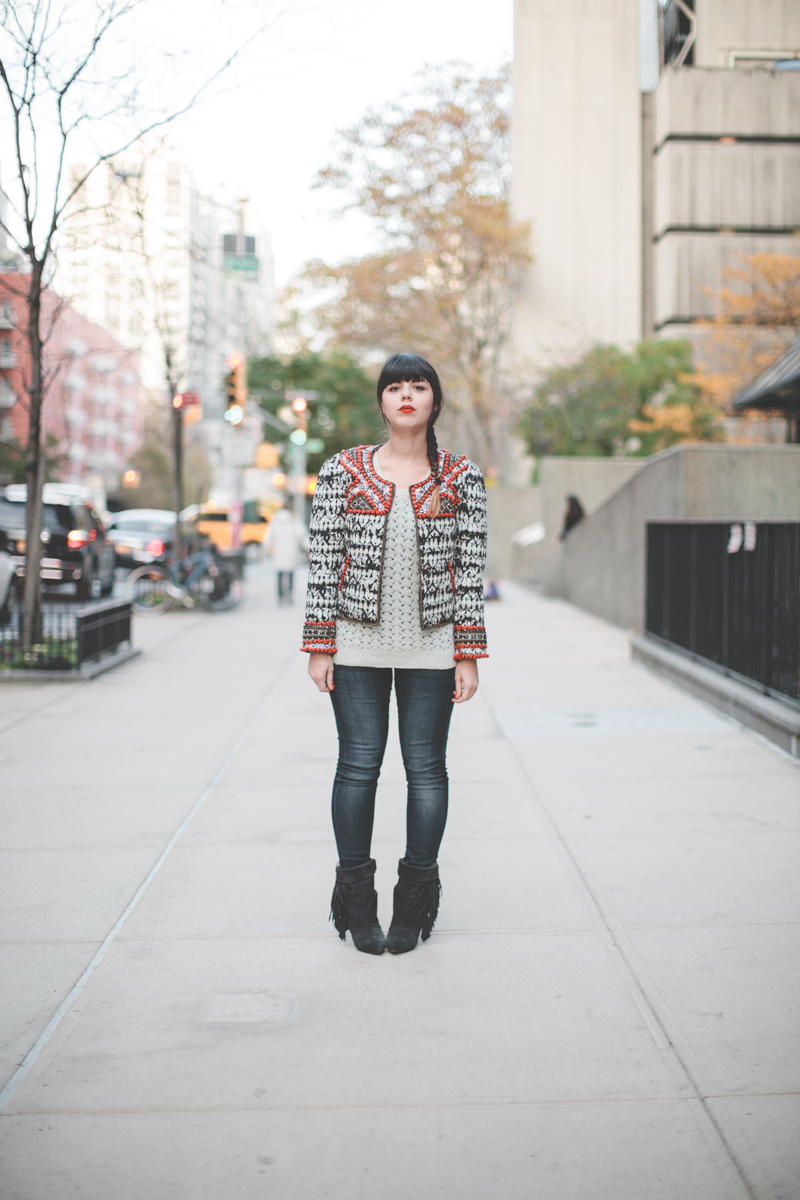 isabel marant pour hm embroidered jacket veste brodee - paulinefashionblog.com_-3
