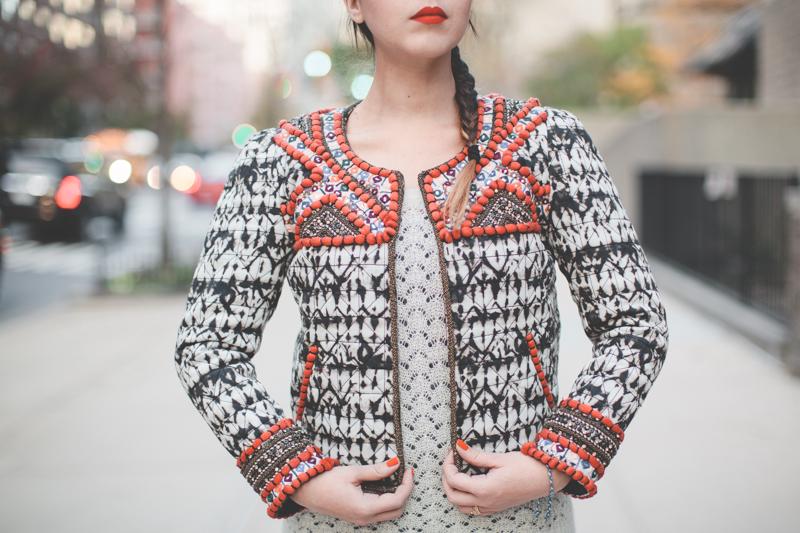 isabel marant pour hm embroidered jacket veste brodee - paulinefashionblog.com_-6