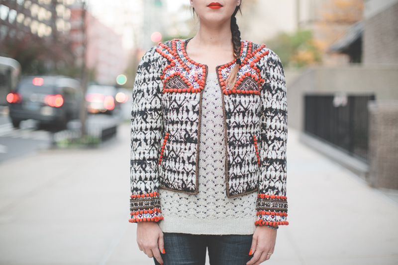 isabel marant pour hm embroidered jacket veste brodee - paulinefashionblog.com_-7