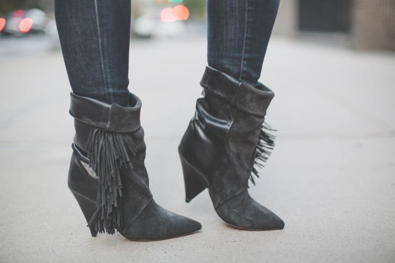 isabel marant pour hm fringe boots - paulinefashionblog.com_-2