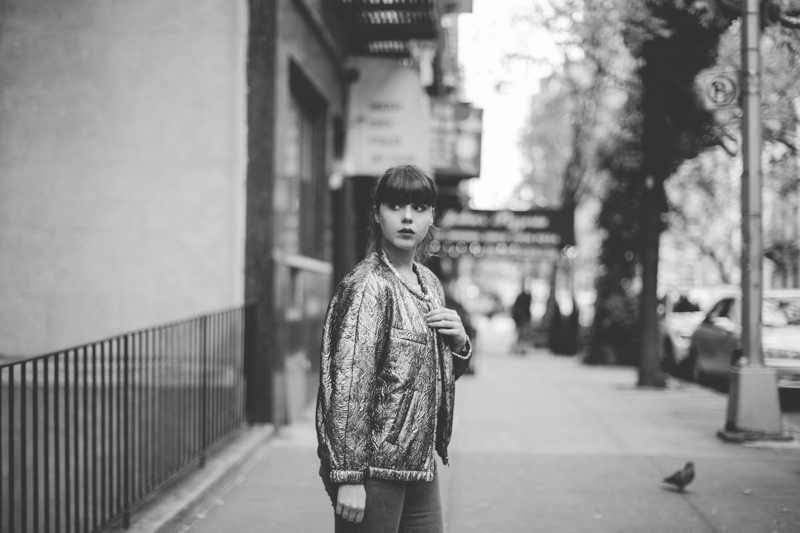 veste bomber teddy jacket isabel marant pour hm silver paulinefashionblog.com  Stay inspired...