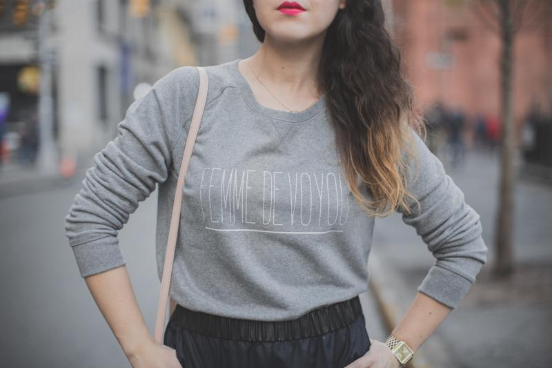 femme de voyou sweater florette paquerette paulinefashionblog.com  13 Christmas Giveaway #11 FEMME DE VOYOU