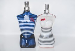 limited edition jean paul gaultier parfums le male classique mariniere navy stripes - paulinefashionblog.com_-5