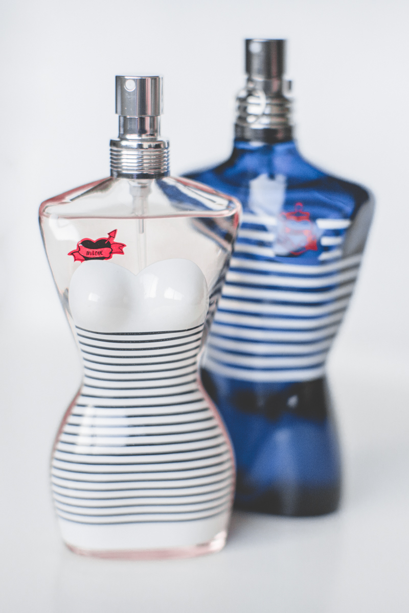 limited edition jean paul gaultier parfums le male classique mariniere navy stripes - paulinefashionblog.com_