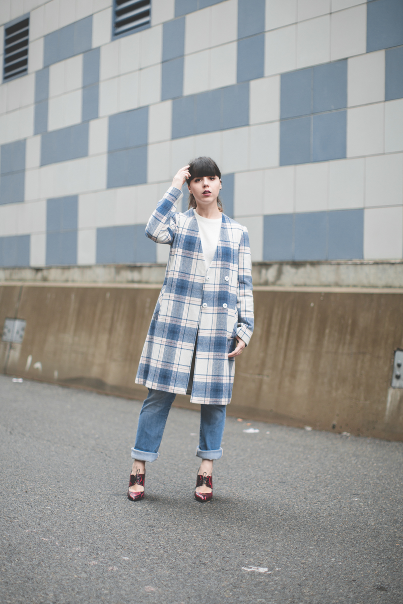 plaid coat topshop giveaway gift card - paulinefashionblog.com_