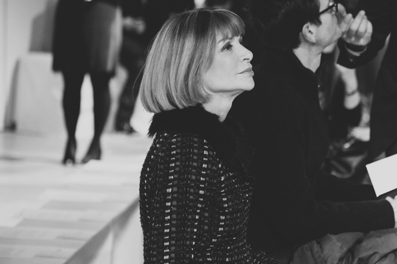 anna wintour vogue magazine hugo boss fashion week fw14 february 2014 portrait streetstyle - copyright paulinefashionblog.com_
