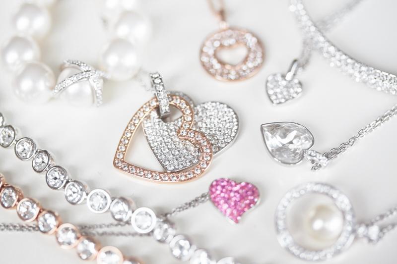 idee cadeau st valentin bijou coeur perle cristal swarovski copyright paulinefashionblog.com  A sparkling Valentines day