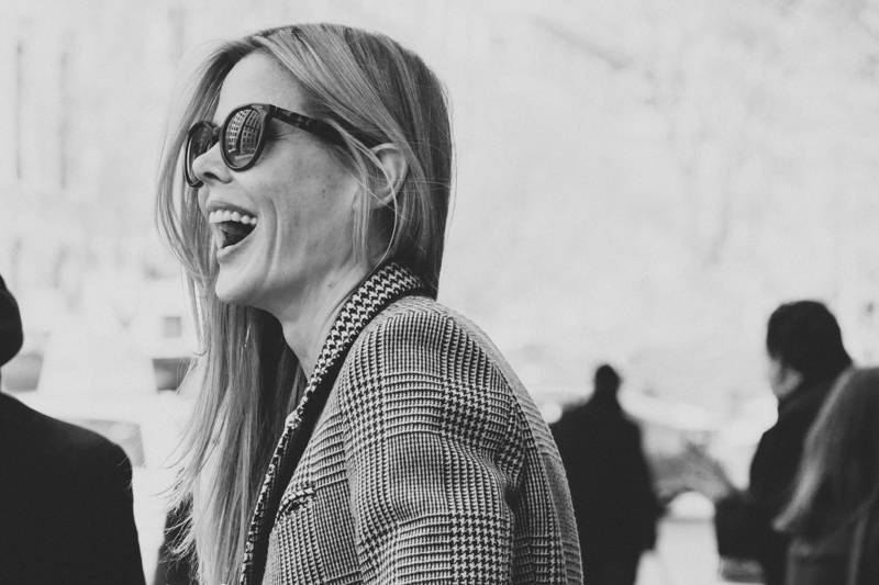 laughing lady new york fashion week fw14 february 2014 portrait streetstyle - copyright paulinefashionblog.com_