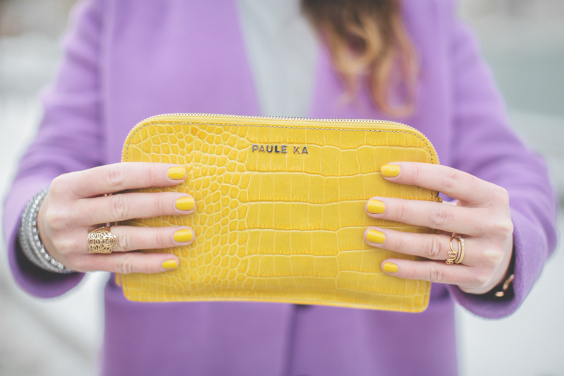 pauline blogger streetstyle paule ka yellow clutch new york fashion week fw 2014 - copyright paulinefashionblog.com_