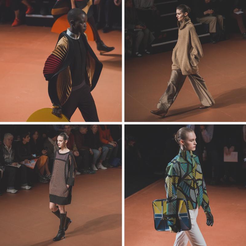 b pfw issey miyake show paris fashion week ah14 copyright paulinefashionblog.com  2 PFW FW14 Diary : suite et fin... ENFIN !