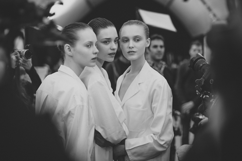 issey miyake paris fashion week backstage pfw ah14 - copyright paulinefashionblog.com_-8