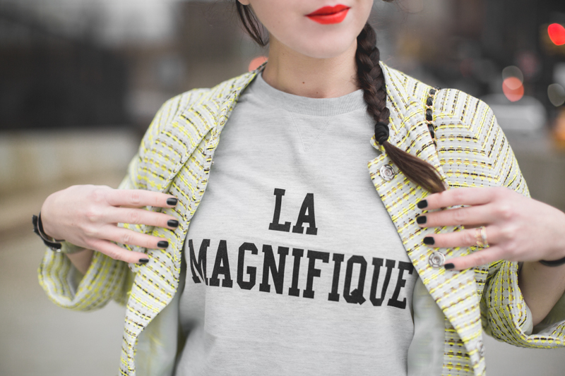 la magnifique sweat sweater copyright paulinefashionblog.com  2 La Magnifique