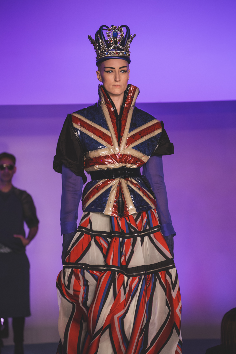 paris fashion week defile jean paul gaultier brits in space - copyright paulinefashionblog.com_-52