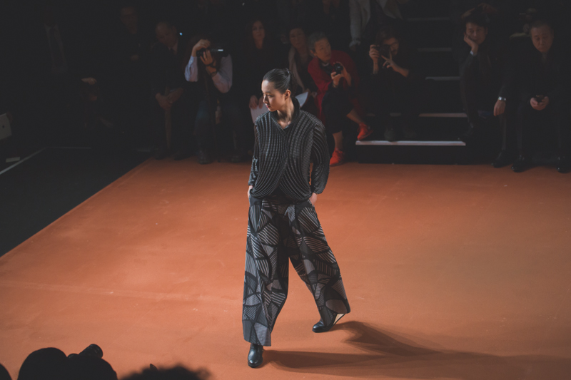 pfw issey miyake show paris fashion week ah14 copyright paulinefashionblog.com  3 PFW FW14 Diary : suite et fin... ENFIN !