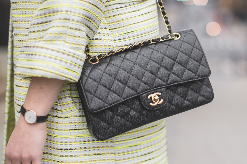 sac chanel timeless double flap bag copyright paulinefashionblog.com  La Magnifique