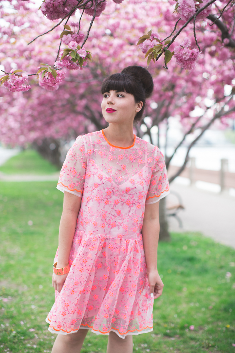 ASOS SALON 1 robe dress pink blogger outfit - copyright paulinefashionblog.com_-13