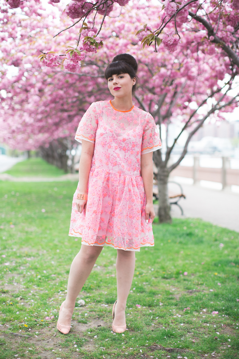 ASOS SALON 1 robe dress pink blogger outfit - copyright paulinefashionblog.com_-14