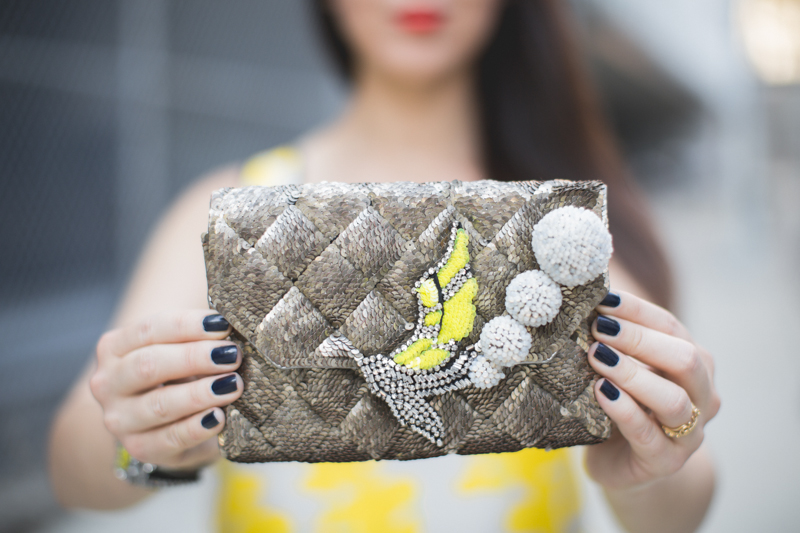 shourouk bird neon prints copyright paulinefashionblog.com  6 Yellow