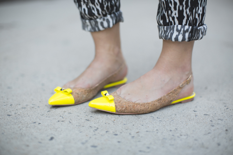 shourouk bird neon prints copyright paulinefashionblog.com  9 Yellow