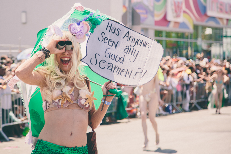 MERMAID PARADE 2014 CONEY ISLAND DO NOT USE WITHOUT WRITTEN PERMISSION copyright paulinefashionblog.com  13 ♥ Mermaid Parade 2014, Coney Island