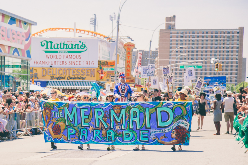 MERMAID PARADE 2014 CONEY ISLAND DO NOT USE WITHOUT WRITTEN PERMISSION copyright paulinefashionblog.com  3 ♥ Mermaid Parade 2014, Coney Island