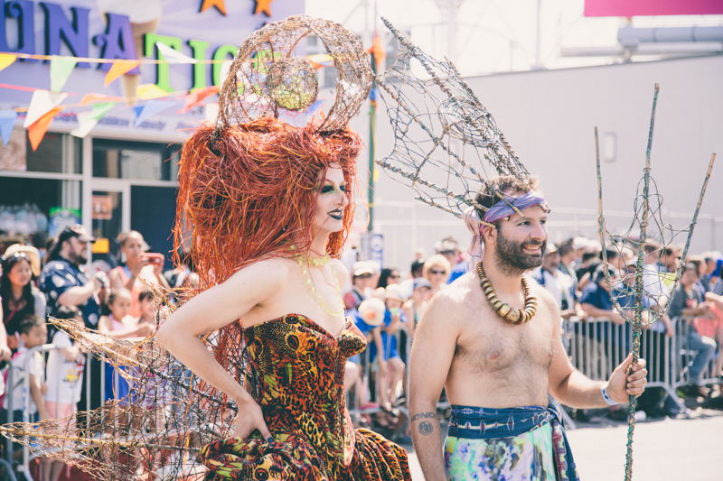 MERMAID PARADE 2014 CONEY ISLAND DO NOT USE WITHOUT WRITTEN PERMISSION copyright paulinefashionblog.com  55 ♥ Mermaid Parade 2014, Coney Island