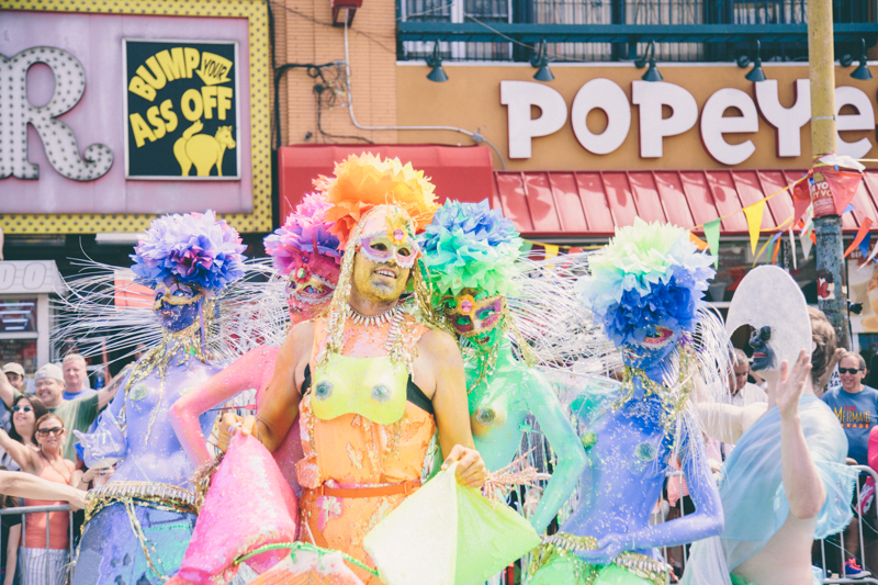MERMAID PARADE 2014 CONEY ISLAND DO NOT USE WITHOUT WRITTEN PERMISSION copyright paulinefashionblog.com  62 ♥ Mermaid Parade 2014, Coney Island
