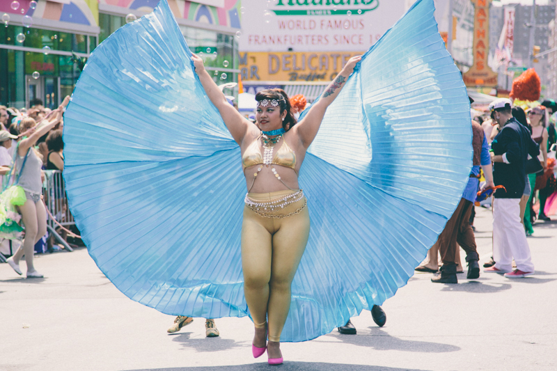 MERMAID PARADE 2014 CONEY ISLAND DO NOT USE WITHOUT WRITTEN PERMISSION copyright paulinefashionblog.com  66 ♥ Mermaid Parade 2014, Coney Island